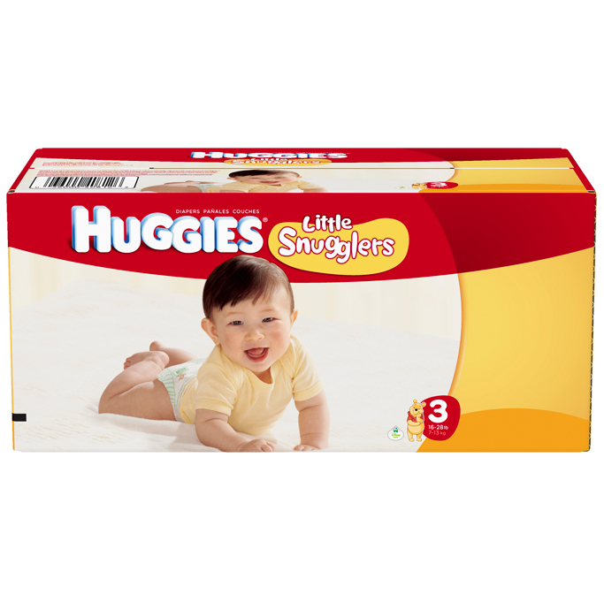 HUGGIES Little Snugglers Size 3