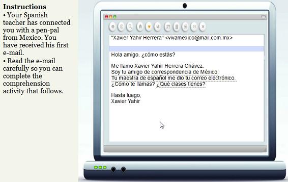 spanish email