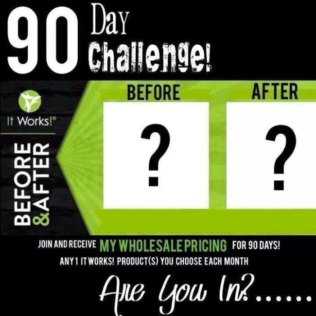 ItWorks 90 Day Challenge