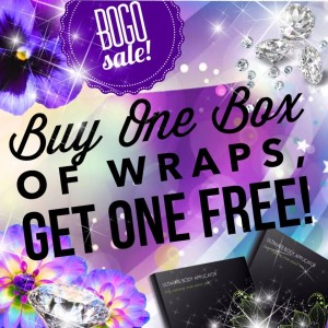 Buy One Box of Wraps Get One Box Free
