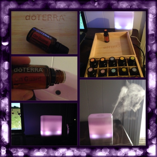 I love diffusing my doTerra essential oils!