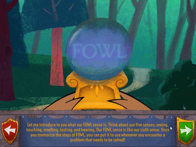 fowl sense