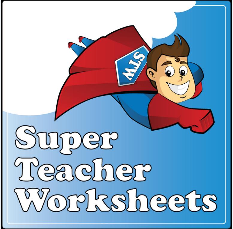 Super Teacher Worksheets | Weiser Academy
