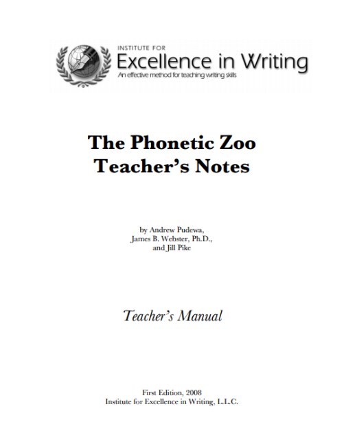 Teacher's Notes e-Book