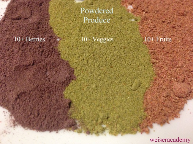 powdered produce