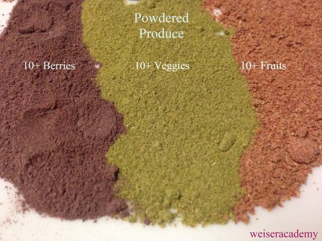 powdered produce