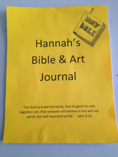 January 2018 weiser academy this journal will be a great way to keep related bible art projects and bible scriptures together and will make a fun memory book and encourage their faith fandeluxe Choice Image